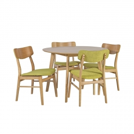 Söögilauakomplekt JAXTON 4-tooliga