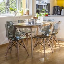 Söögilauakomplekt ENRICH 4-tooliga
