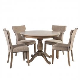 Söögilauakomplekt MANOR 4-tooliga