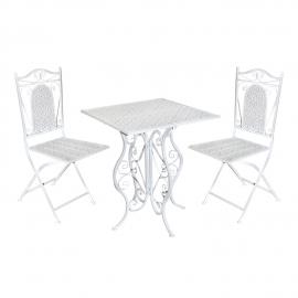 Komplekt GRETA laud ja 2 tooli