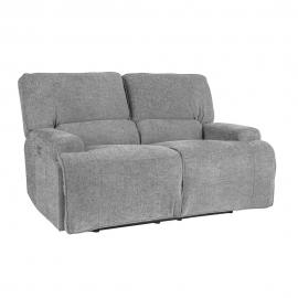 Diivan MARCUS 2-kohaline elektriline recliner 160x99xH96,5cm, hall
