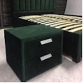 Öökapp GRACE 2-sahtliga 50,5x41xH40cm, roheline
