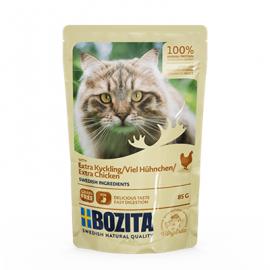 Bozita Extra Chicken in Sauce kassi täissööt 12x85g