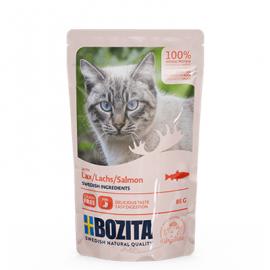 BOZITA LÕHE TÜKID KASTMES kassi täissööt 12x85g