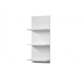 Seinariiul CADIZ valge, 30x17xH70 cm