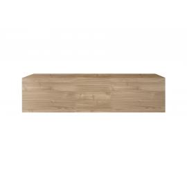 Seinakapp INFINITY hele pähkel, 138x30xH29 cm