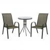 Komplekt DUBLIN laud ja 2 tooli
