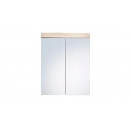 Peegelkapp AMANDA metsik tamm, 60x17xH77 cm