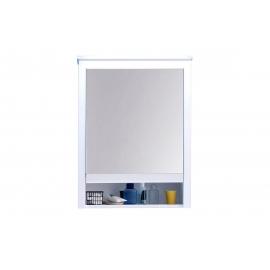 Peegelkapp OLE valge, 62x25xH80 cm