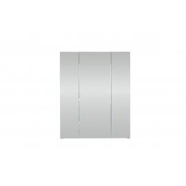 Peegelkapp MONTE valge läige, 60x18xH74 cm