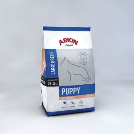ARION koeratoit ORIGINAL PUPPY LARGE BREED SALMON & RICE 12kg
