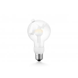 LED lamp MOVE ME umbrella valge, 3W, E27, 2700K