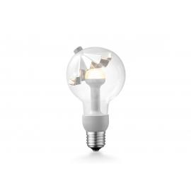 LED lamp MOVE ME umbrella hõbe, 3W, E27, 2700K
