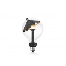 LED lamp MOVE ME umbrella must / kuldne, 5.5W, E27, 2700K