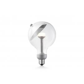 LED lamp MOVE ME cone hõbe, 5,5W, E27, 2700K