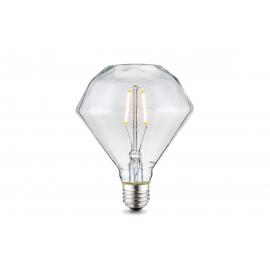 LED lamp DIAMOND klaar, D11,2xH13,4 cm, 2W, E27, 2500K