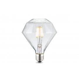 LED lamp DIAMOND klaar, D11,2xH13,4 cm, 4W, E27, 3000K