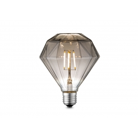 LED lamp DIAMOND suitshall, D9,5xH13,5 cm, 4W, E27, 2700K