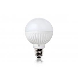 LED lamp ROUND valge, D7,5xH11 cm, 8,5W, E27, 2700K, reguleeritav