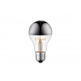 LED lamp MIRROR klaar / kroom, D6xH10,5 cm, 4W, E27, 3000K