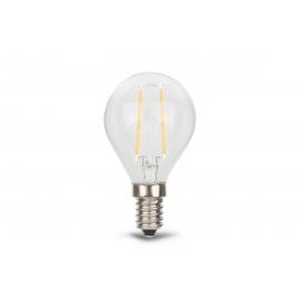 LED lamp DECO klaar, D4,5xH7,8 cm, 2,1W, E14, 2700K