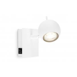 Kohtvalgusti BOLLO valge, 11,5x11,5xH14 cm, LED