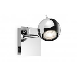 Kohtvalgusti BOLLO kroom, 11,5x11,5xH14 cm, LED