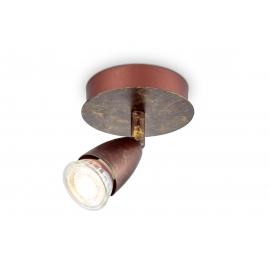 Kohtvalgusti CURL pronks, D11,5xH13,5 cm, LED