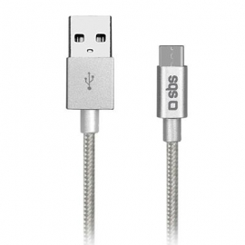 Kaabel USB-A - USB-C SBS (1,5 m)