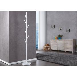 Riidenagi TREE valge, D30xH172 cm