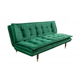 Diivanvoodi MAGNIFIQUE smaragdroheline, 184x85-111xH66-78 cm