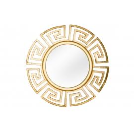 Seinapeegel EUPHORIA kuldne, 85x2xH85 cm
