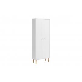 Jalatsikapp JONTE valge, 65x30xH176 cm