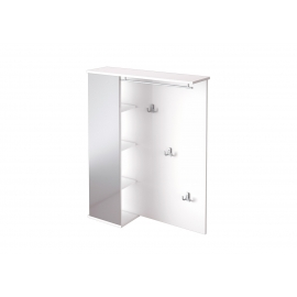 Esikuriiul PISA valge läige, 90x25xH113 cm