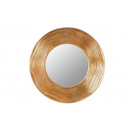 Seinapeegel CIRCLE kuldne, D100x4 cm