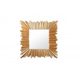 Seinapeegel VENICE kuldne, 96x3xH96 cm