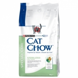 CAT CHOW ADULT STERILIZED kassitoit 3kg