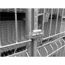 Kergpaneeli metallist kinnitusklamber SG-postile (tsingitud)