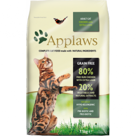 Applaws kassitoit Adult CHICKEN and LAMB 7,5kg