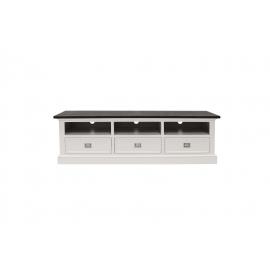 TV-alus Skagen valge, 180x45xH55 cm