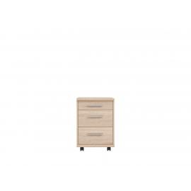 Kummut Office tamm, 40x38,5xH56 cm
