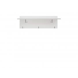 Riidenagi Flames valge, 92x29xH30 cm
