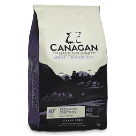Canagan koeratoit light & senior 4kg