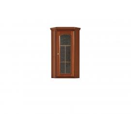 Vitriinkapp kastan / pähkel, 49x49xH113,5 cm