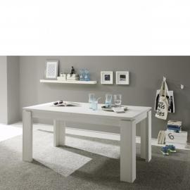 Söögilaud Trendteam valge, 160/200x90xH77 cm