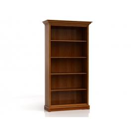 Raamaturiiul Kent 110x43xH204,5cm, kastan