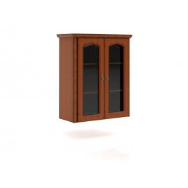 Vitriinkapp pruun, 96x45xH111 cm