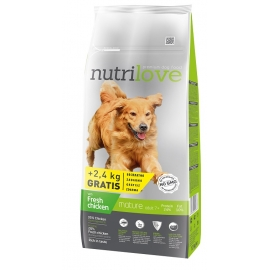 Nutrilove senior fresh chicken koeratoit 12kg