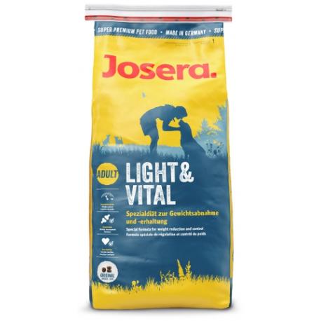 Josera Light&Vital koeratoit 15kg