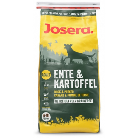 Josera Duck & Potato koeratoit 15kg